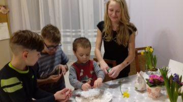 Zbiorowe sadzenie rzeżuchy z pomocą Martyny