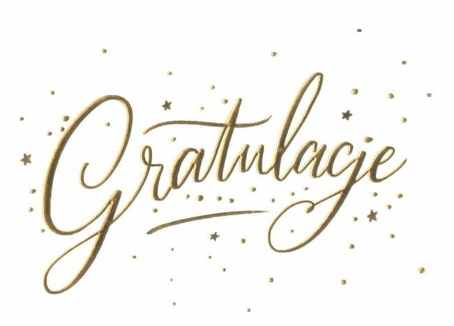 Karnet—Gratulacje